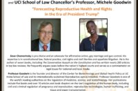 CWLC Speaker Series Erwin Chemerinsky Michele Goodwin UCI School of Law Feminist Majority Foundation